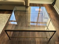 Selling Mitchell Gold + Bob Williams Glass Coffee Table- $400 Washington