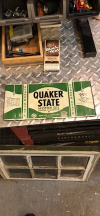Quaker State Motor Oil sticker 205 mi