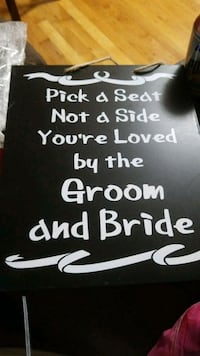 Wedding Sign Brand New Carle Place, 11514