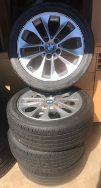 Rims and Tires for BMW 3 and 5, complete set Jackson, 39209