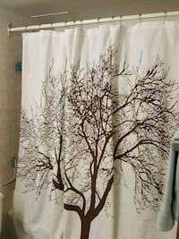 Cotton shower curtain Calgary, T3C 3R8