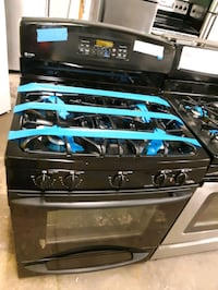 GE 5 BURNERS GAS STOVE WORKING PERFECTLY 4 MONTHS WARRANTY