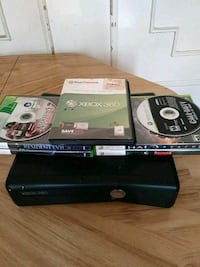 Xbox 360 W/6 Games Only