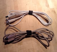 6ft USB 2.0 A/B cables - $5 for both Calgary, T3E 2S9