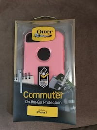 pink iPhone 7 Otter Box phone case Brookhaven, 11727
