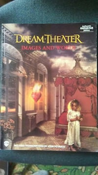 Dream Theater images and words tab book Saskatoon, S7K 0R2