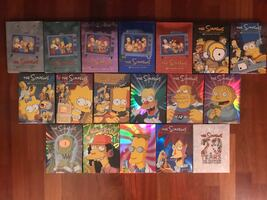 Simpson's dvd collection