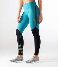 Virus compression pants with mesh XS new still in wrapper bag Norwood