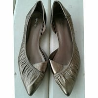SPRING Gold Flats- Size 39 (8.5)