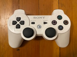 SONY DUALSHOCK 3 SIXAXIS Wireless Bluetooth Controller WHITE for PS3