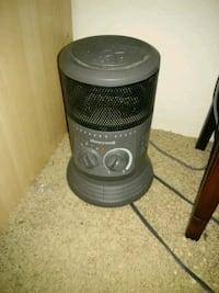 Black and Gray Portable Heater