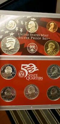 2003 U.S. Mint Silver Proof Set  Myrtle Beach