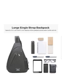 One Strap Backpack for Men Single Strap Backpack Sling Bag Crossbody S