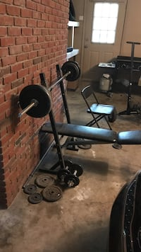 Black and gray barbell Cabot, 72023