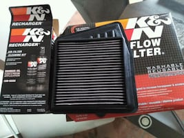 Air filter 2009 to 2013 Acura TSX