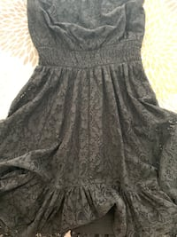Strapless black lace dress size small Riverside, 92503