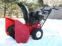 red and black snow blower Spencerport, 14559