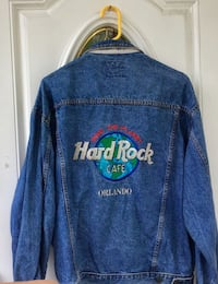 HARD ROCK CAFE - SAVE THE PLANET- ORLANDO - DEMIN JACKET - $55 Fort Myers Beach, 33931