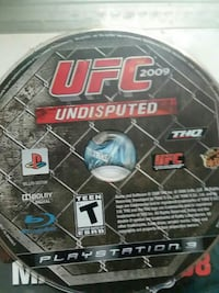 UFC 2009 Undisputed Sony PS3 game