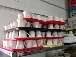 $3 each Traditional Restaurant Coffee Cups Bell Sh