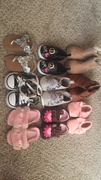 toddler's assorted pairs of shoes College Park, 20740