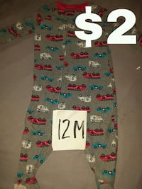 white, blue, and red printed pants Paw Paw, 49079