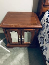 Solid Wood (2) Night Tables Antique Surrey, V3S 1G5