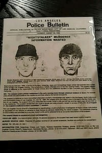 Authentic wanted poster Omaha, 68102