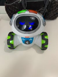 Fisher price robot education toy with batteries Toronto, M3N