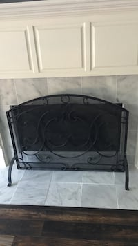 Pottery barn fireplace screen. Paid $200