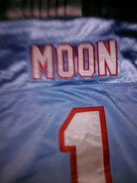 Rare Warren Moon Authentic Jerseys Washington