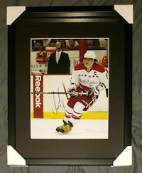 Alexander Ovechkin Signed Caps Photo Framed w/COA  Brampton, L6T 5G5