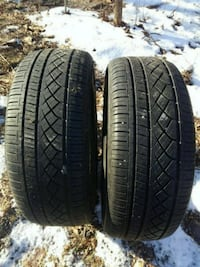 two black car tires set Harpers Ferry, 25425