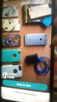 space gray iPhone 6 and assorted-color iPhone case lot screengrab Modesto, 95351