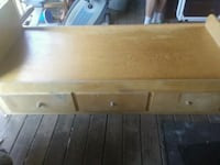 Hand made wood bed Maryland, 12116