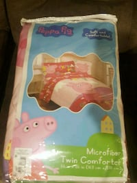 Brand new Peppa pig twin comforter Baltimore