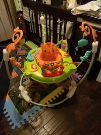 Fisher-Price roarin Rainforest jumperoo screenshot Birmingham, 35203