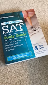 The official SAT study guide book Providence, 02903