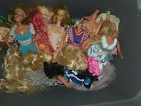 Barbie dolls and other