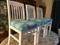 Gorgeous Set of 5 Refinished Dining Chairs  Zorra, N5C 3J5