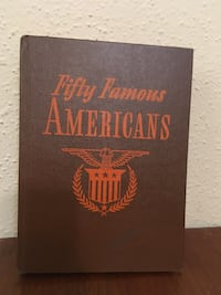 Fifty Famous Americans  Seabrook, 77586