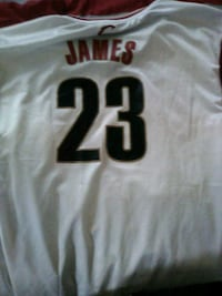 Lebron James Cavs Rookie Jersey 4XL Washington