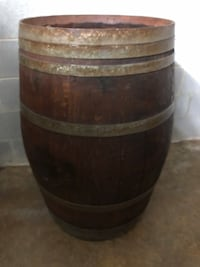 Rustic wine barrel finished Aldie, 20105