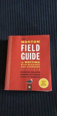 Norton Field Guide to writing with reading and handbook Spartanburg, 29303