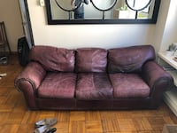Leather Couch and Loveseat Washington, 20036