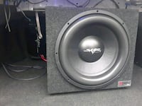 Skar 15 inch subwoofer with 800 watt skar amp West Sacramento, 95691