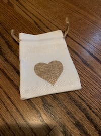 35  Wedding candy favor bags