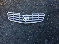 Gray cadillac grille