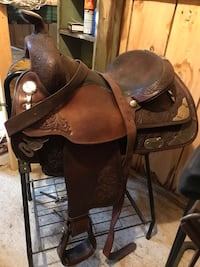 brown and black leather horse saddle Reynoldsville, 15851