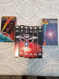 Star trek VHS set